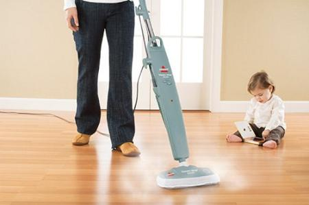 Bissell Steam Mop Deluxe Hard Floor Cleaner